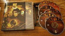 Babylon 5: The Complete Fifth Season (DVD, 6-Disc) five Sci Fi TV show series
