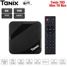 Tanix TX3 MAX TV Box S905W HDMI WiFi BT4.1 Video 2+16GB Android 7.1 Set-top Box
