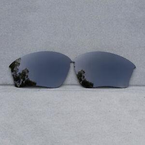 US Polarized Black Replacement Lenses for-Oakley Half Jacket XLJ Sunglasses