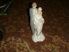 """Bride / Groom Figurine - Nao by Lladro - 8 3/4"""" in Height - Free Shipping"""
