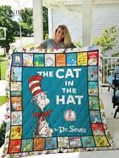The Cat in the Hat Dr. Seuss Funny Fleece Throw Blanket Lc300726