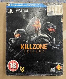 Killzone Trilogy Ps3 Complete Damaged Box