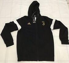 Adidas Juventus Zip Hoodie Jacket Men size XLarge Black Soccer New w/tags