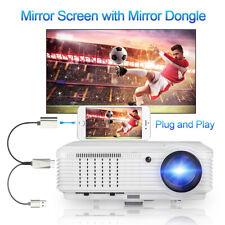 LCD Heimkinoprojektor Film-Party HD Video HDMI USB-AV + 1080p-Display-Dongle