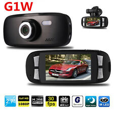 1080P Car Dashboard DVR Camera Cam Video Recorder G1W Night Vision Recorder DE