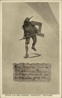 Tegernsee Bayern Oberbayern ~1910 Herzogliches Bräustübl Lokal Gemälde Gedicht