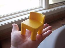 Little Tikes Dollhouse Yellow Chair Doll House Size Yellow Replacement Part