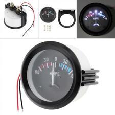 """Mini 2"""" 52Mm 12V 60-0-60 Amp Voltmeter Ammeter Led Volt Amp Meter Gauge Us"""