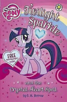 My Little Pony Story Book - TWILIGHT SPARKLE AND THE CRYSTAL HEART SPELL - NEW