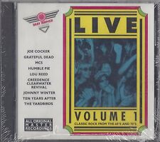 BABY BOOMER CLASSICS LIVE VOL. 1-----VARIOUS ARTISTS---- NEW SEALED ROCK CD