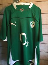 Puma Ireland Eire Irish Football University XXL Mint Home Jersey Forest Green