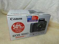Canon EOS 1000D 10.1 MP Digital SLR Camera - Black (Body Only) + CHGR + BATTERY