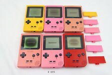 Plz Read Note! Lot of 6 Set Nintendo GameBoy Pocket Console System GBP #3378