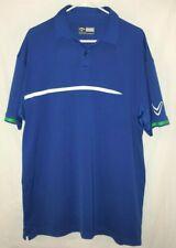 Men's Callaway Golf Polo XLT Shirt Opti-Dri Blue XLT EUC Big and Tall