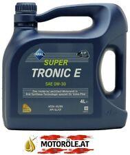 1x 4l Liter Aral Super Tronic E 0W-30 Motoröl ACEA A5/B5 API SL Motorenöl