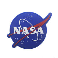 PVC Rubber NASA Space Program Hook Patch Morale Tactical Backing-Fastener Badge