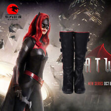 DFYM TV Series Batwoman Kate Kane Cosplay Halloween Customized Shoes Boots