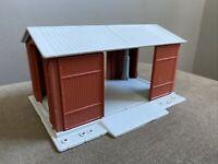HO Newray 1995 Model Railroad Building Drive thru shed Model Train Railroad RR
