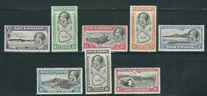 ASCENSION 1934 KGV PICTORIALS (Scott 23-3- short set) F/VF MH