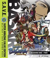 Sengoku Basara: Samurai Kings Ssn 1-2 + Ova - Save [New Blu-ray] With DVD