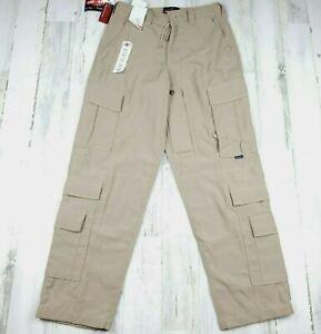 Tru-Spec Pro G Tactical Utility Pants Tan Men's  Size S NWT