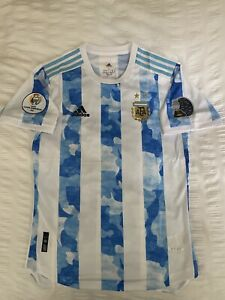 Argentina Home Jersey 2021/22 HEAT.RDY Player Version- Copa America- Messi