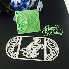 Envelope Cutting Dies Stencil DIY Scrapbooking Album Paper Card Embossing Craft