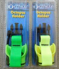New listing BOGO Cetacea OCTOPUS HOLDER Scubas/Snorkeling Fluorescent Green or Yellow NIP
