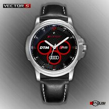 Orologio da polso Audi Sport RS DTM in acciaio stainless watch cinturino pelle S