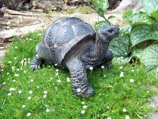 Dekofigur Schildkröte Gartenfigur Tierfigur Landschildkröte Gartendeko