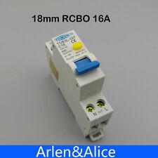 TOB3L-32F 18MM RCBO 16A 1P+N 6KA Residual current Circuit breaker