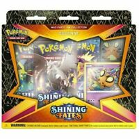 NEW Pokémon TCG: DEDENNE SEALED Shining Fates Mad Party Pin Collection