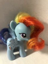 """Rare My Little Pony 8"""" Rainbow Dash Toy Colorful Mane And Tail (Hasbro 2013)(C3)"""