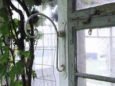 Chic Antique Wandhalter Haken Metall Weiß Shabby Vintage Landhaus Nostalgie