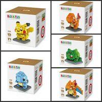 New Pokemon Nano Building Block mini block toys Gift set for age 14+