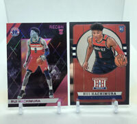 RUI HACHIMURA 2019-20 Panini Rookie Lot RC 10 CARD LOT! Invest! 🔥Pink Recon SP