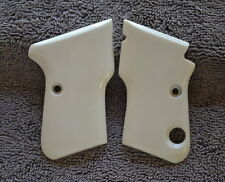 063  950 BS .25 Cal Beretta Frames Ivory Look Grips! Great For Scrimshaw Work!