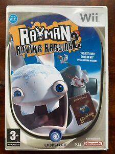 Rayman Raving Rabbids 2 Nintendo Wii Alien Rabbits Video Game