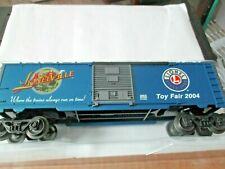 Lionel 6-29919  2004 Toy Fair Boxcar O-Scale