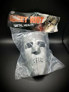 Quiet Riot Mental Health Mask