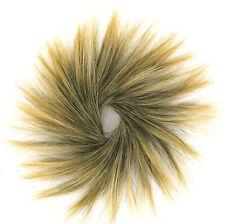 chouchou chignon cheveux brun méché doré ref: 21 en 1bt24b