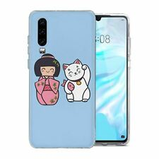 For Huawei P30 Silicone Case Anime Cute Japan - S1566