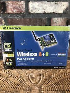 Linksys Dual-Band Wireless A+G Pci Adapter