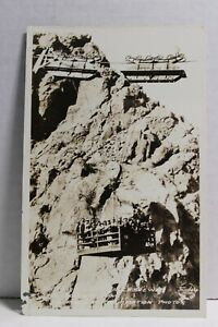 Workers Going on Shift Boulder Dam Construction Nevada RPPC