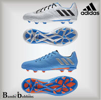 SALE - Adidas Messi 16.3 FG Boys Girls Football Boots Size Kids 10 Adult 3 4 5 6