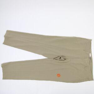 Clemson Tigers Nike Golf Dri-Fit Dress Pants Men's Tan Used