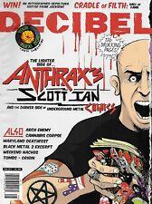 Decibel Magazine Anthrax Scott Ian Arch Enemy Cannabis Corpse Maryland Deathfest