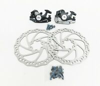 Tektro M300 Aries Mechanical Disc Brakes Front & Rear w Calipers, Rotors & Bolts
