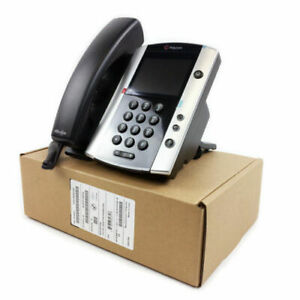 BRAND NEW Polycom VVX 501 12-Line Business Media Phone PoE IP Phone