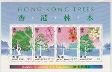 HONG KONG :  1988 Trees of Hong Kong Miniature Sheet SGMS576 MNH